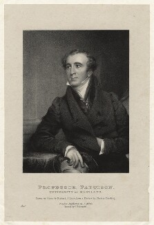 Granville Sharp Pattison, by Richard James Lane, printed by  Charles Joseph Hullmandel, published by  J. Miller, after  Chester Harding - NPG D22406