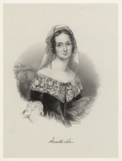 Florentia (née Wynch), Lady Sale, by Richard James Lane, after  Maria A. Chalon - NPG D22413
