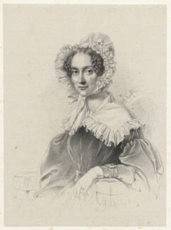 Queen Adelaide (Princess Adelaide of Saxe-Meiningen), by Richard James Lane, 1838 - NPG D22415 - © National Portrait Gallery, London