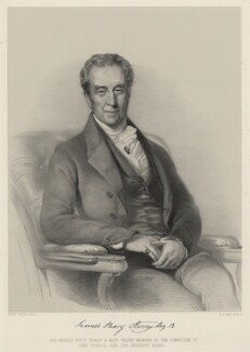 Samuel Henry Sterry, by Richard James Lane, after  George Patten - NPG D22422
