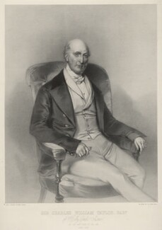 Charles William Taylor, 1st Bt of Hollycombe, by Richard James Lane, printed by  M & N Hanhart, after  Marie Françoise Catherine Doetter ('Fanny') Corbaux - NPG D22425