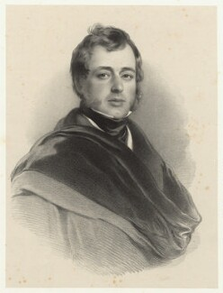 John William Robert Kerr, 7th Marquess of Lothian, by Richard James Lane - NPG D22436