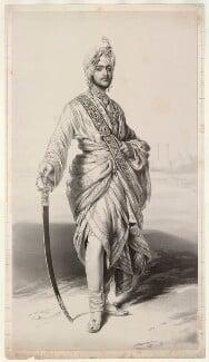 Maharaja Duleep Singh, by Richard James Lane, after  Franz Xaver Winterhalter - NPG D22439