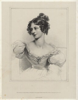Mary Droop (née Richmond), by Richard James Lane, printed by  Charles Joseph Hullmandel, after  Sir Thomas Lawrence - NPG D22440