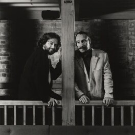 Gregory Doran; Antony Sher, by Derry Moore, 12th Earl of Drogheda - NPG x126962