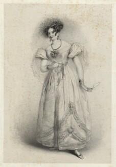 Eliza Paton as Rosina in 'The Barber of Seville', by Richard James Lane, after  J. Stewart - NPG D22442