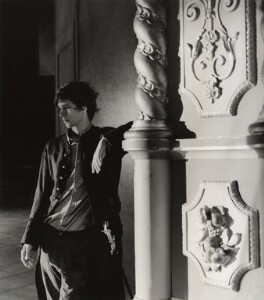 Ben Whishaw as Hamlet, by Derry Moore, 12th Earl of Drogheda - NPG x126968