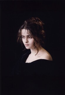 Helena Bonham Carter, by Derry Moore, 12th Earl of Drogheda - NPG x126972