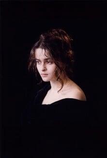 Helena Bonham Carter, by Derry Moore, 12th Earl of Drogheda, 1992 - NPG x126972 - © Derry Moore