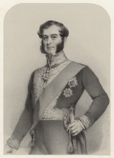 Richard Grenville, 2nd Duke of Buckingham and Chandos, by Richard James Lane - NPG D22454