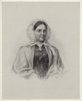Mrs Chitty, by Richard James Lane, after  Mary Ann Nichols - NPG D22456