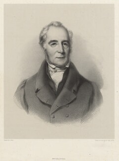 Mr Gwynnell, by Richard James Lane, printed by  M & N Hanhart, after  Samuel West - NPG D22461