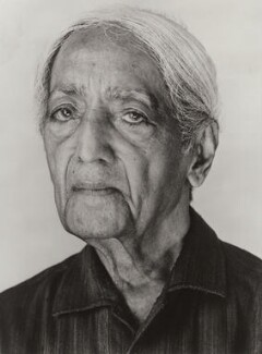 Jiddu Krishnamurti, by Derry Moore, 12th Earl of Drogheda - NPG x126975