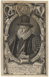 William Knollys, Earl of Banbury, possibly by Simon de Passe, published by  Compton Holland - NPG D17064