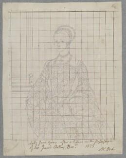 Lady Jane Grey, by Henry Bone, after  Unknown artist - NPG D17222