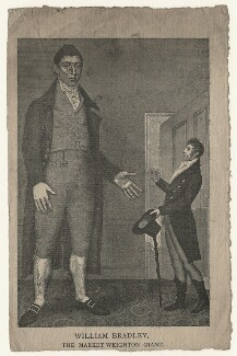 William Bradley and an unknown man, by Samuel Freeman, after  Thomas Peat - NPG D20531