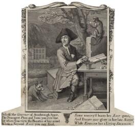 Richard Dickinson, after Hans Hysing - NPG D20534