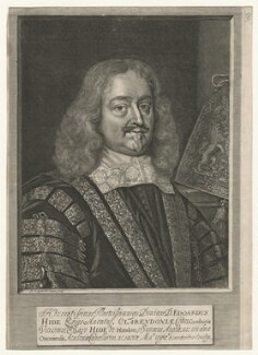 Edward Hyde, 1st Earl of Clarendon, by David Loggan - NPG D20542