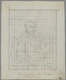 Thomas Howard, 14th Earl of Arundel, by Henry Bone, after  Sir Anthony van Dyck - NPG D17233