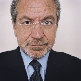 Alan Sugar, by Harry Borden, 15 March 2001 - NPG  - © Harry Borden