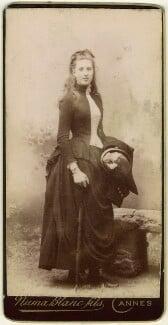 Lady Ottoline Morrell, by Numa Blanc Fils, circa 1889 - NPG x144134 - © National Portrait Gallery, London
