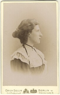 Lady Ottoline Morrell, by Erich Sellin - NPG x144135