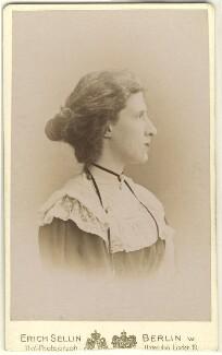 Lady Ottoline Morrell, by Erich Sellin, circa 1902 - NPG x144135 - © National Portrait Gallery, London
