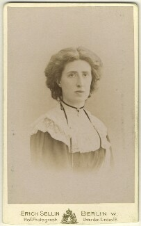 Lady Ottoline Morrell, by Erich Sellin - NPG x144136