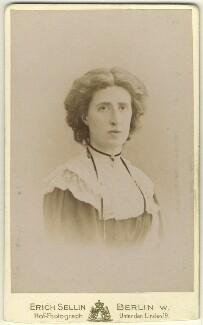 Lady Ottoline Morrell, by Erich Sellin, circa 1902 - NPG x144136 - © National Portrait Gallery, London