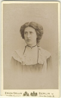 Lady Ottoline Morrell, by Erich Sellin, circa 1902 - NPG x144137 - © National Portrait Gallery, London