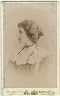 Lady Ottoline Morrell, by Erich Sellin - NPG x144138