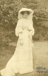 Lady Ottoline Morrell, by Unknown photographer - NPG x144143