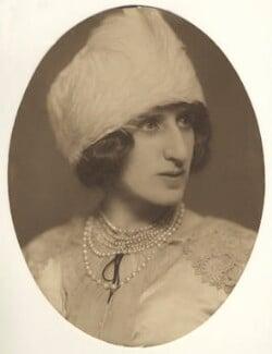 Lady Ottoline Morrell, by Lizzie Caswall Smith - NPG x144144