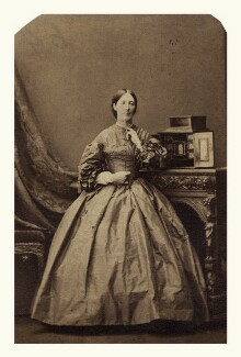 Augusta Mary Elizabeth (née Browne), 1st Baroness Bolsover, by Camille Silvy - NPG x144163