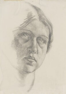 Dora Carrington, by Dora Carrington, circa 1910 - NPG  - © National Portrait Gallery, London