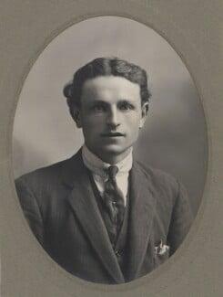 Lionel Gomm (né Lionel Harry Weedon Collinson), by Unknown photographer - NPG x144183