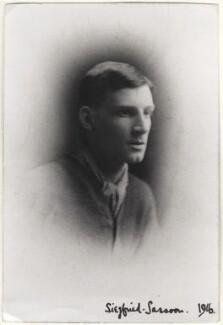 Siegfried Loraine Sassoon, by Unknown photographer, January 1916 - NPG x144195 - © National Portrait Gallery, London