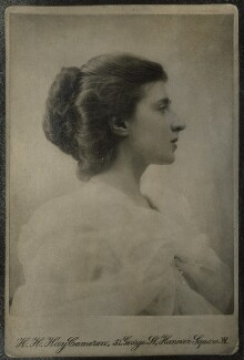 Lady Ottoline Morrell, by Henry Herschel Hay Cameron (later The Cameron Studio) - NPG Ax140002