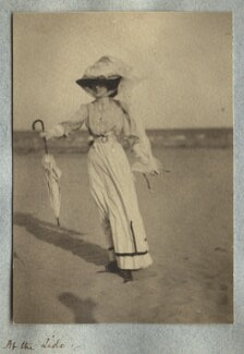 Lady Ottoline Morrell, by Philip Edward Morrell - NPG Ax140014