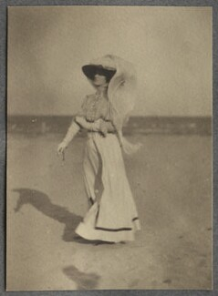 Lady Ottoline Morrell, by Philip Edward Morrell - NPG Ax140020