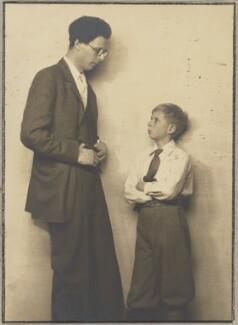 Aldous Huxley; Matthew Huxley, by Dorothy Wilding - NPG x144198