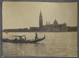 View of St Giorgio Maggiore, by Lady Ottoline Morrell - NPG Ax140028