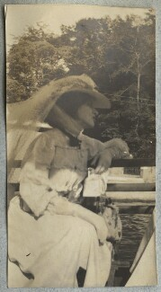 Lady Ottoline Morrell, by Philip Edward Morrell - NPG Ax140041