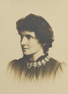 E. Nesbit, by Thomas White of Lewisham - NPG x127024