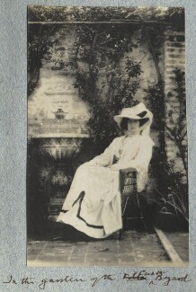 Lady Ottoline Morrell, by Philip Edward Morrell - NPG Ax140051