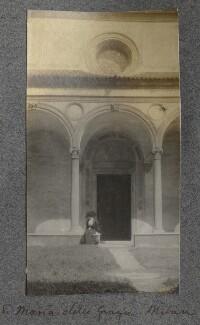 Lady Ottoline Morrell ('Santa Maria della Grazie, Milan'), by Philip Edward Morrell - NPG Ax140061