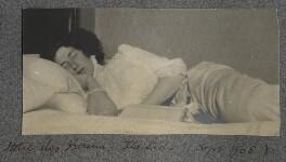 Lady Ottoline Morrell ('Hôtel des Bains, the Lido'), by Philip Edward Morrell - NPG Ax140063