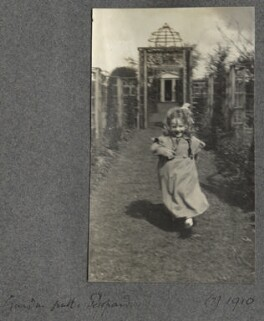 Julian Vinogradoff (née Morrell), by Lady Ottoline Morrell - NPG Ax140064