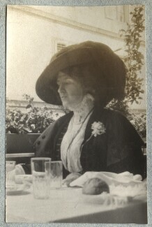 Lady Ottoline Morrell, by Philip Edward Morrell - NPG Ax140067
