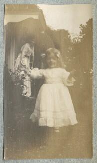 Lady Ottoline Morrell; Julian Vinogradoff (née Morrell), by Philip Edward Morrell - NPG Ax140089